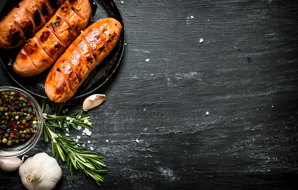 wallpaper table  food  sauce  spices  sausages  spices  grill  sausages  chicken  fried  grill