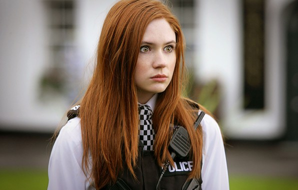 Picture Girl, Look, Girl, Eyes, Actress, Police, Red, Doctor Who, Beauty, Eyes, Doctor Who, Beautiful, Redhead, ...