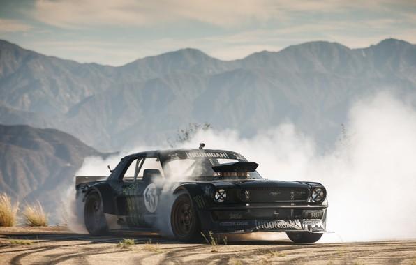 Hoonigan Mustang Drifting