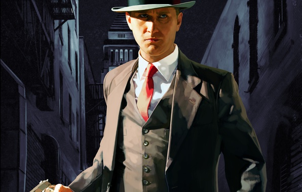 Picture Game, L. A. Noire, Rockstar Games, Thevideogamegallery.com