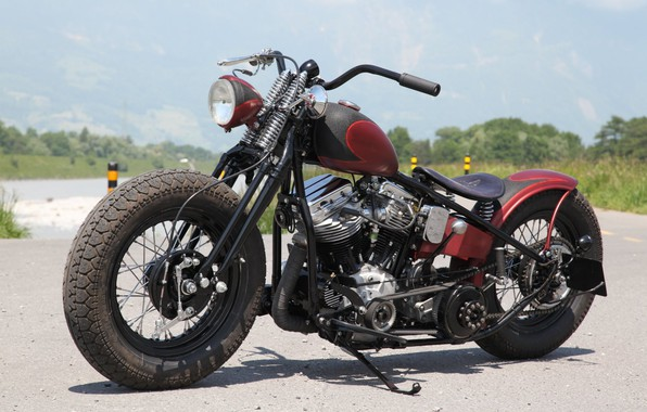 Picture Bike, Custom, Motorbike, Motorcycle, Bobber