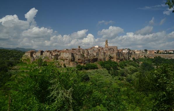 Picture Home, Panorama, Italy, Building, Italy, Tuscany, Italia, Panorama, Toscana, Tuscany, Pitigliano, Pitigliano