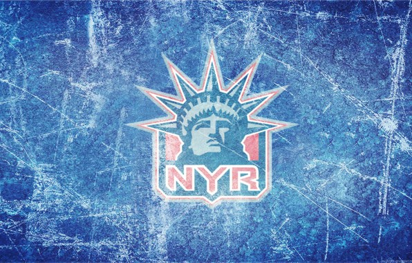 Picture ice, logo, emblem, the statue of liberty, NHL, NHL, National Hockey League, hockey club, New …