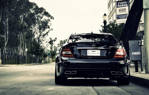 Picture Mercedes - Benz, C63, Amg