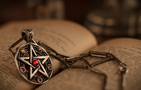 Picture star, pendant, book, decoration