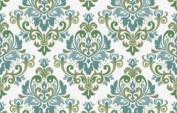 Picture vector, ornament, border, seamless, seamles, victorian style