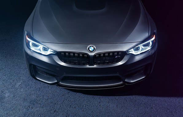 Picture BMW, Face, Silver, F82