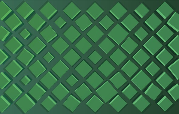 Picture green, square, background, shades