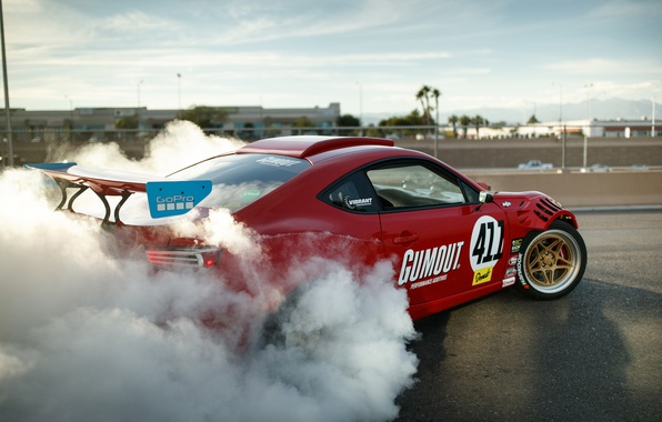 Picture tuning, smoke, photographer, Ferrari, Toyota GT86, Larry Chen, Engined