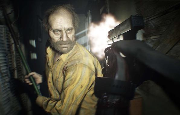 Picture horror, Jack, resident evil 7, residen evil