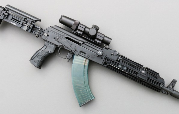 Picture weapons, tuning, machine, weapon, custom, custom, Kalashnikov, AKM, Russian, AKM, assault rifle, assault Rifle