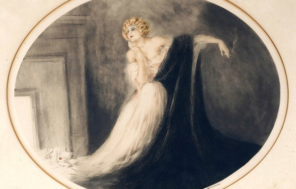 Picture 1929, Louis Icar, Sappho