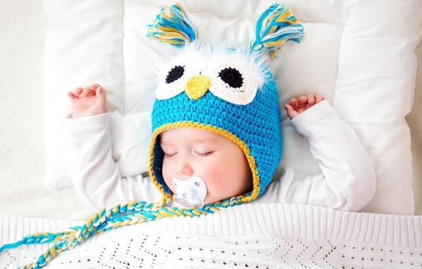 Picture Children, Sleeping, Hat, Sleep, Child