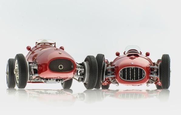 Picture background, Ferrari 500 F2, Lancia D50
