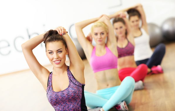 Picture pose, female, Yoga, elongation