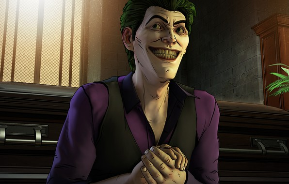 Picture The game, Smile, Joker, Teeth, Smile, Joker, Villain, Game, DC Comics, Telltale Games, Green hair, …