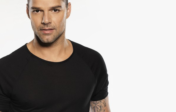 Picture men, singer, look, Ricky Martin