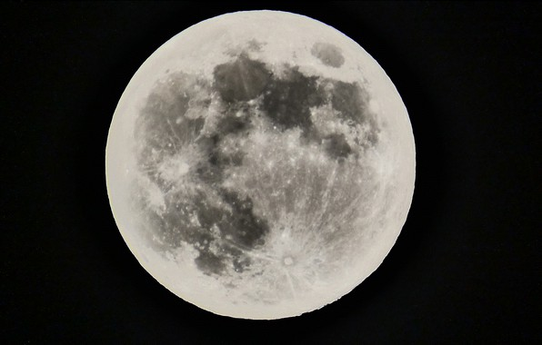 Picture space, moon, sky