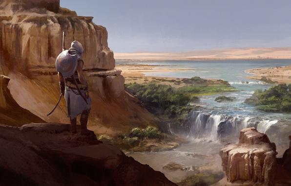 Picture desert, Heath, Egypt, assassin, Assassin's Creed Origins
