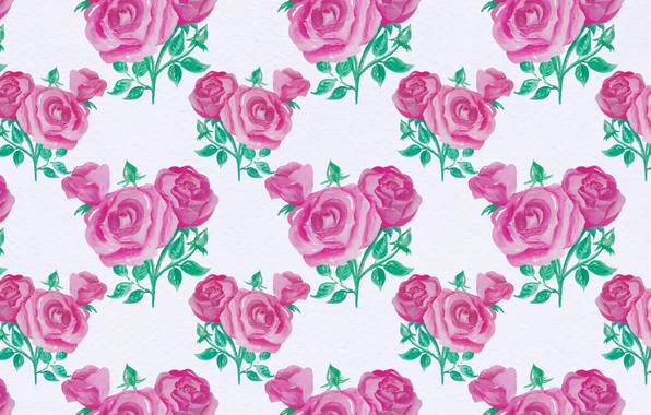 Picture background, pattern, roses, texture