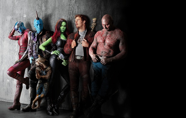 Picture Nebula, Zoe Saldana, Rocket Raccoon, Gamora, Groot, Drax, Star Lord, The Destroyer, Guardians Of The …
