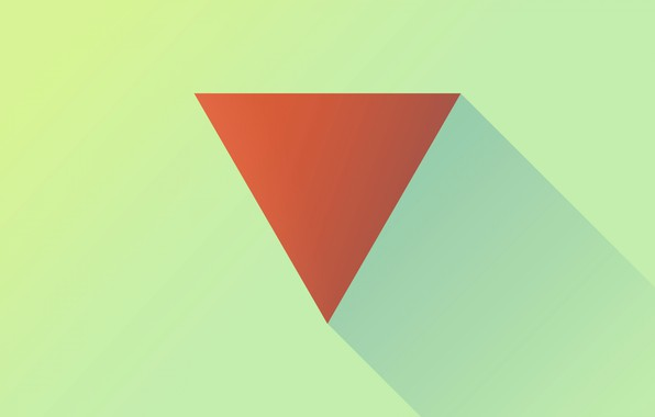 Picture shadow, angle, prism, triangle