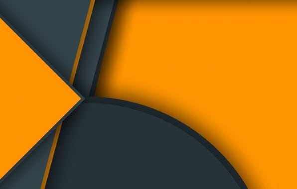 Picture line, orange, grey, texture, figure