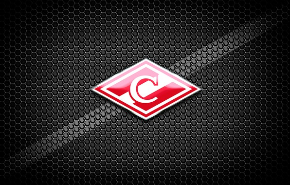 Picture Red, Sport, Logo, Football, Background, Emblem, Russia, Club, Hockey, Spartacus, Football Club, 1946, Rhombus, Meat, …