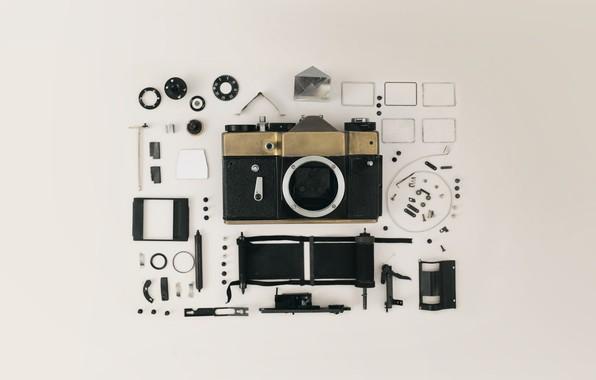 Picture camera, the camera, film, lens, camera, inside, lenses, lens, film, insides