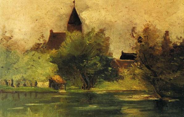 Picture shore, Landscape, Francis Picabia