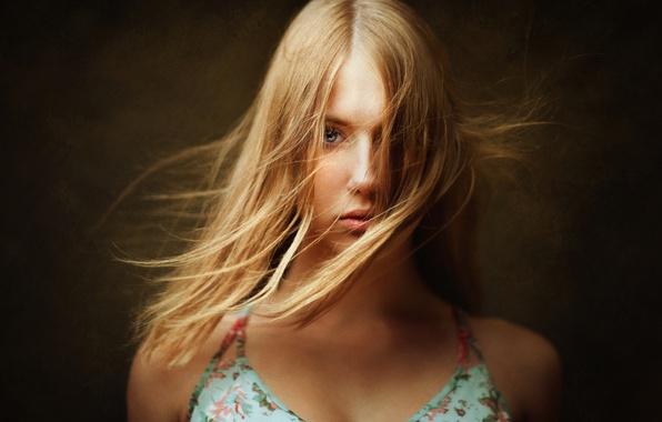Picture hair, portrait, Marina, retouching, Lashon Rise, art processing
