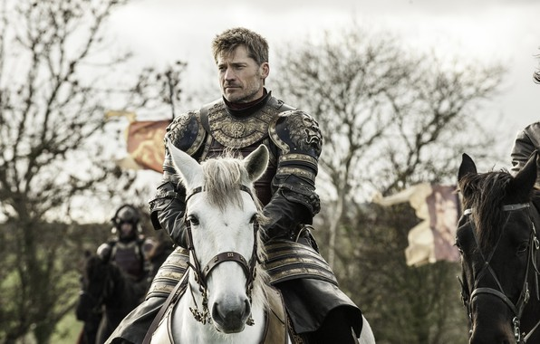 Picture horse, horse, armor, game of thrones, game of thrones, knight, jaime lannister, Nikolaj Coster-Waldau, the …