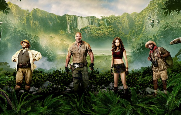 Picture Girl, Action, Jungle, Fantasy, Beautiful, Wood, the, Snake, Men, Female, Family, year, Waterfall, Woman, Dwayne ...