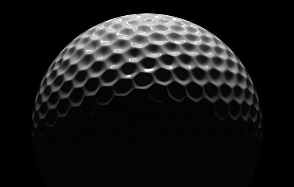 Wallpaper White Black Golf Ball Images For Desktop Section Tekstury Download