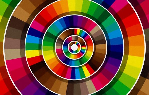 Picture figure, texture, picture, colors, colorful circles