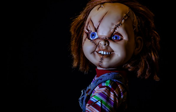 Picture background, doll, Chucky