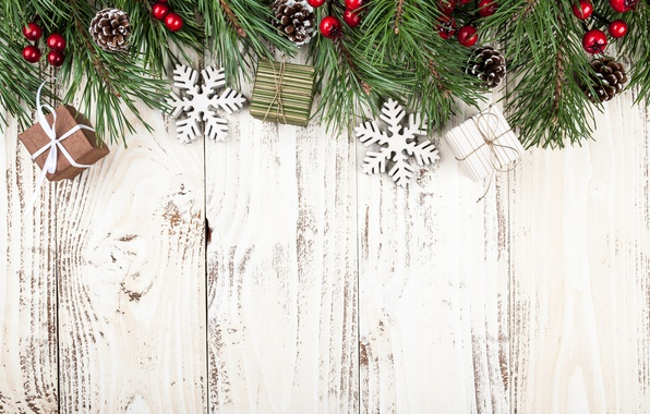 Picture New Year, Christmas, wood, merry christmas, decoration