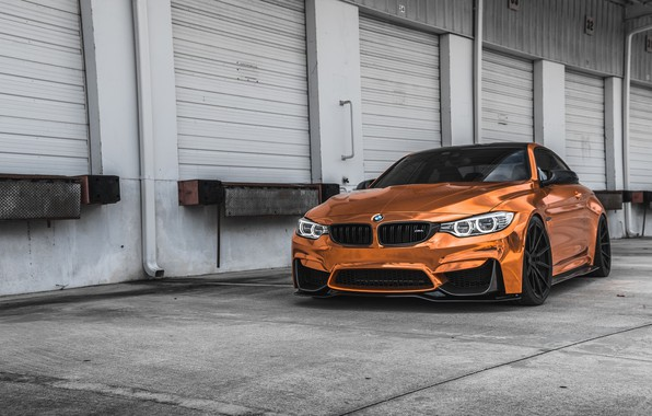 Picture BMW, Sight, Bronze, F83