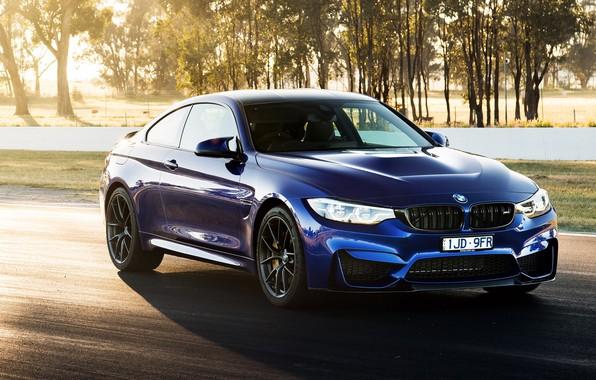 Picture sports car, 2018, BMW M4 CS