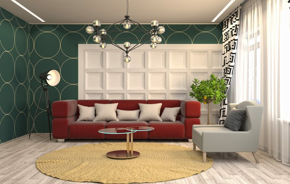 Picture design, style, furniture, living room, living room