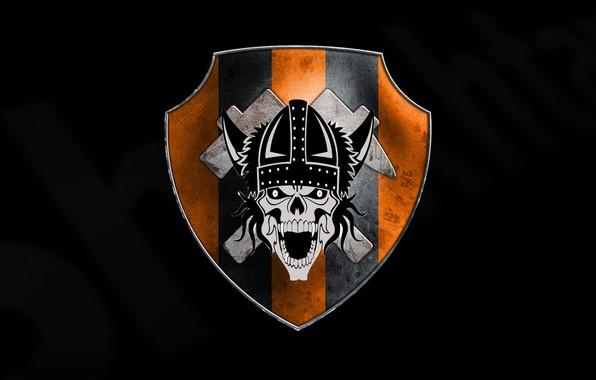 Picture Skull, Helmet, Emblem, Abstract, Miner