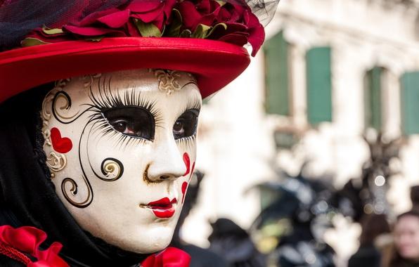 Picture mask, Italy, Venice, carnival, Venice