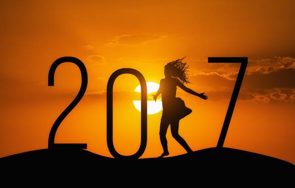 Picture New year, new year, happy, 2017