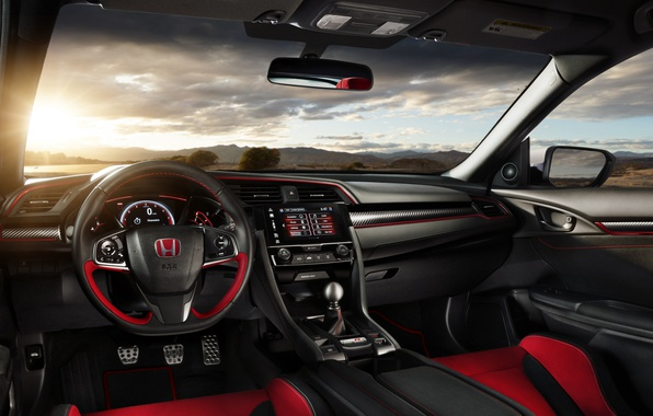 Picture the wheel, Honda, salon, Honda, torpedo, Civic, civici, Type R
