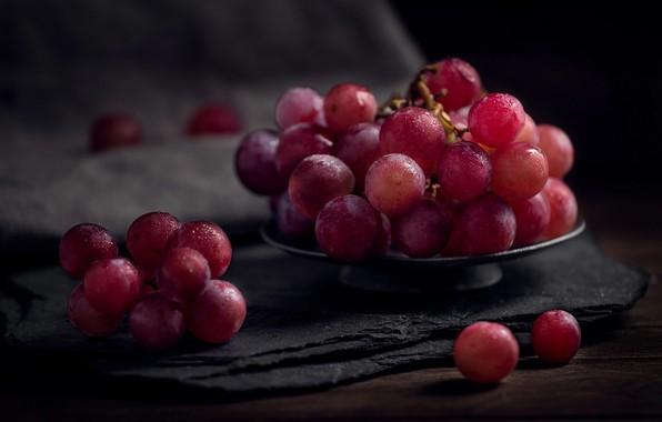 Picture macro, berries, food, grapes, Grona