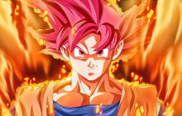 Picture Art, Anime, Super Saiyan God