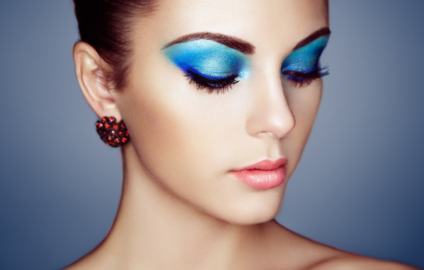 Picture girl, style, portrait, makeup, make-up