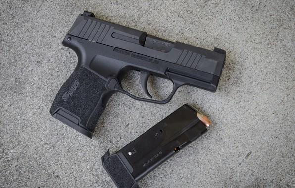 Picture gun, clip, Sig P365