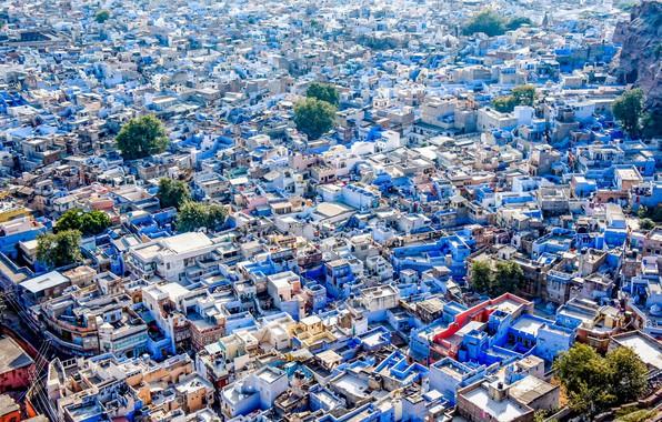 Picture India, India, Jodhpur, Blue city, The Blue City
