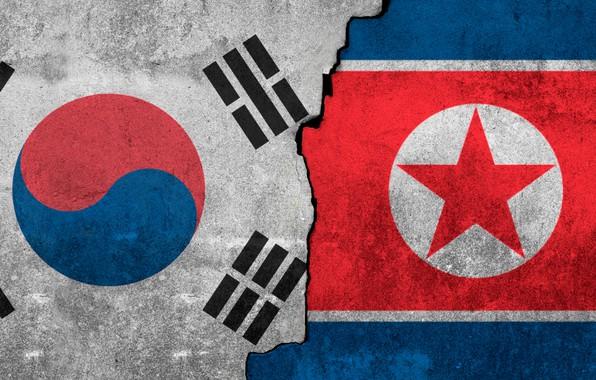 Wallpaper Flag South Korea North Images For Desktop Section